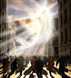 "Revelation 1:7-8 NKJV  7 Behold, He is coming with clouds, and every eye will see Him, even they who pierced Him. And all the tribes of the earth will mourn because of Him. Even so, Amen.8 ""I am the Alpha and the Omega, the Beginning and the End,""[c] says the Lord,[d] ""who is and who was and who is to come, the Almighty."" http://www.fivefoldministryireland.com"