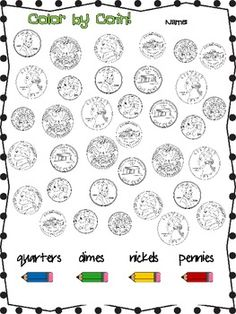 Money: Having Fun With Coins! #Free 10 pages These are cute free money worksheets that would be appropriate for most ages.