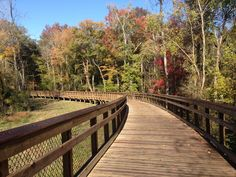 Raleigh greenway - new section now open