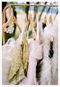 Rustic glam wedding fashion