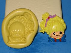 Rainbow Brite Silicone 2D Push Mold Cake by LobsterTailMolds