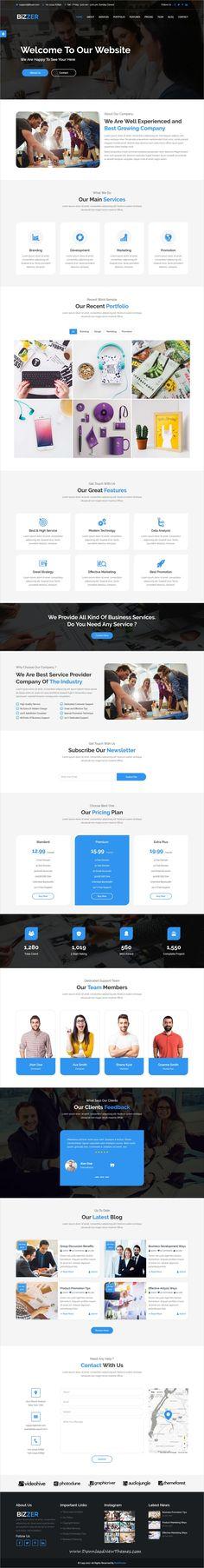 Welding Responsive Website Template | New Website Templates ...