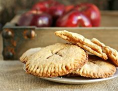 Apple Pie Cookies by Anita at Hungry Couple on September 2013 in Cookies, Desserts See this recipe post on Anita at Hungry Couple's site. Apple Pie Cookies, Peanut Butter Cup Cookies, Cookie Pie, Cookie Desserts, Cookies Et Biscuits, Cookie Recipes, Dessert Recipes, Apple Pies, Tasty Cookies
