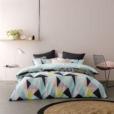 Metro OLT Fragment Bedlinen - Bedroom Quilt Covers & Coverlets - Adairs online