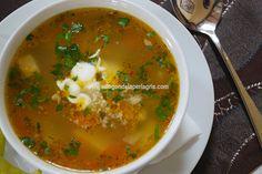 Receta de ciorba de vacuta  rumana. Una de las mejores y más sanas sopas que podemos comer es la sopa de carne de vaca o ciorba de vacut...