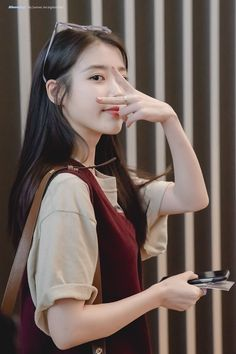 Beautiful Girl like Fashition Iu Fashion, Korean Fashion, Korean Airport Fashion, Kpop Girl Groups, Kpop Girls, Korean Beauty, Asian Beauty, Iu Hair, Korean Girl