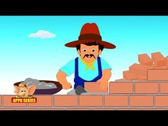 Wise man built his house - Nursery Rhyme with Karaoke Old Nursery Rhymes, Bible Illustrations, Wise Men, Kids Events, Old Men, Karaoke, The Rock, Children, Building