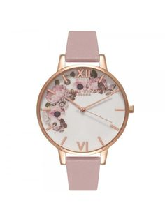 Olivia Burton Enchanted Garden Rose Sand/Rose Gold-30