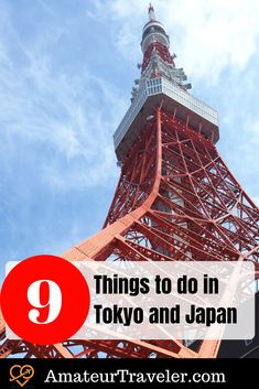 9 Things to do in Tokyo and Japan #travel #japan #tokyo