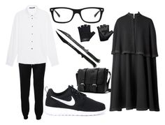 """""""-3-"""" by fashion12gamer ❤ liked on Polyvore featuring Barbara Bui, NIKE, Ray-Ban, Casall, men's fashion and menswear"""