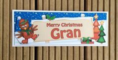 Gran Christmas Card by TheBlenheimCardCo on Etsy