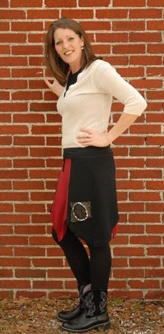 OOAK Recycled Sweater Skirt