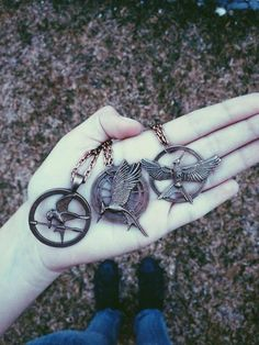 Jewelry/Necklaces: Hunger Games Trilogy Symbol Pendants: