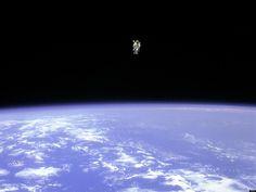 Bruce McCandless II on a spacewalk in 1985