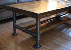 retro metal coffee table legs