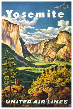 Yosemite National Park, Kalifornien / California - Vereinigte Staaten von Amerika / United States of America / USA