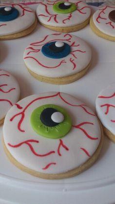 Galletas de ojos. Eyes cookies