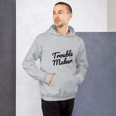 Everyone needs a cozy go-to hoodie to curl up in, so go for one that's soft, smooth, and stylish. It's the perfect choice for cooler evenings! Sweat Shirt, Neck T Shirt, Unisex, Dark Sense Of Humor, Bleu Indigo, Hoodies For Sale, Black Smoke, Black And Navy, Shoulder Sleeve
