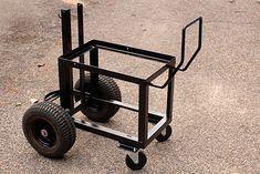 Carrinho de metal sob medida para para equipamento / pictures of homemade welding carts - Page 13