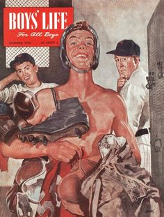 Mostly vintage illustration and comic art for a rainy day, or any day. Magazines For Kids, Vintage Magazines, Boys Life Magazine, Creepy Comics, Life Cover, Vintage Classics, Vintage Boys, Norman Rockwell, Vintage Comics