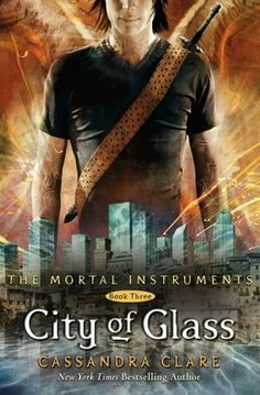 The Mortal Instruments: City of Glass, Book 3. Quite the little predictable page turner! Still love the story, but not sure if I couldn't put it down because it was so good or because I wanted to see if my predictions were correct...
