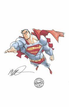 Superman Commission by Humberto Ramos Comic Art