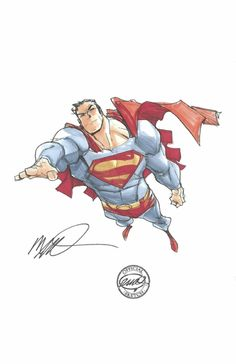 Superman Commission by Humberto Ramos Comic Art