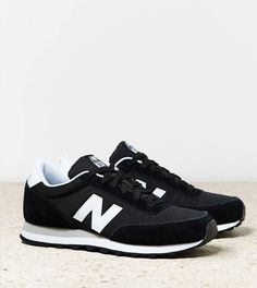 For casual long day outings. Black New Balance 501 Sneaker
