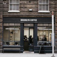 Brooklyn Coffee in Shoreditch