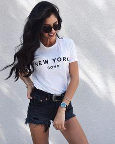 "nostalgah: ""dearlie: ""nitroxed: ""nitroxed: ""ig: sarahsunita "" n i t r o x e d "" dearlie "" Awards/faves: Summer faves Indie Fashion, Trendy Fashion, Teen Fashion Outfits, Girl Fashion, Style Fashion, Gina Lorena, New York Soho, Summertime Outfits, Girl Inspiration"