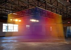Rainbow Thread Installations | Fubiz™