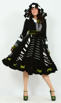 Zombie Safari Dream Coat! Enlightened Platypus has just listed her new collection on Ebay - bid early, bid often!