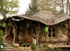 A beautiful cob home in England