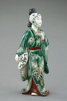 japanese kutani figurine - Google Search