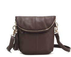 Dámska taška cez rameno z pravej hovädzej kože2