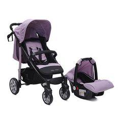Cangaroo kolica + autosedište Arrow Purple