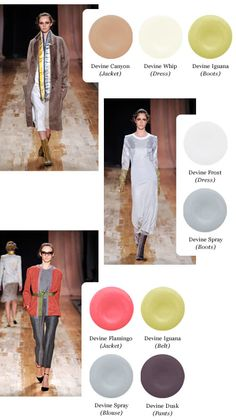 """Now, fresh from showing her Fall 2011 collection at New York Fashion Week, this busy trendsetter is partnering with Devine Color to curate a palette of ten paint colors inspired by the looks she showed on the runway. The """"Devine Color Curated by Cynthia Rowley"""" palette celebrates the timelessness and beauty of rich colors, feminine confidence and limitless self-expression."""