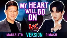 Dimash and Marcelito Pomoy Incredible Rendition of My Heart Will Go On |... Brain Activities, Celine Dion, Music Industry, Music Publishing, Music Is Life, My Heart, Acting, Singing, To Go