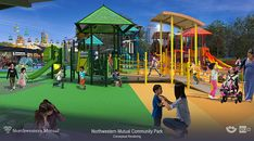 Check out Summerfest's plans for the redeveloped Northwestern Mutual Children's Theater & Playzone