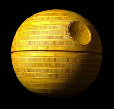 Bamboo Death Star is the ultimate gift for Star Wars fans Bamboo Plywood, Colossal Art, The Ultimate Gift, Death Star, Wood Lathe, Sound Design, Star Wars Art, For Stars, Wood Turning