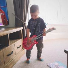 Little rocker!