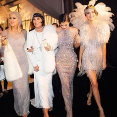 Kendall, Kris, Khloe and Kylie