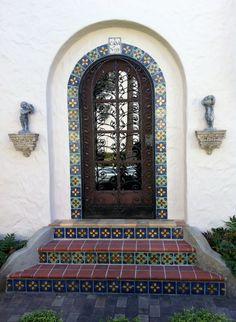 Beautiful door, McNay Art Museum,  San Antonio, TX - Garden Area