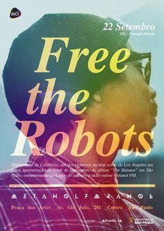 event poster - free the robots