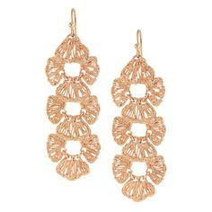 Stella&Dot Geneve Linear Earrings Original $59.00 Now $28.95 Free Shipping Worldwide