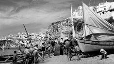 Em Albufeira, como em toda a região, nos anos 50, havia mais pescadores que banhistas  Artur Pastor
