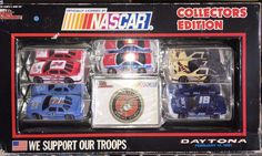 Racing Champions 5 Car Set 1/64 We Support Our Troops Daytona February 17, 1991