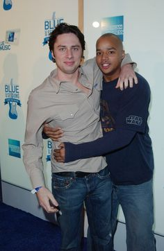 Donald Faison And Zach Braff Are The Ultimate BestFriends (ton of great pictures in story)