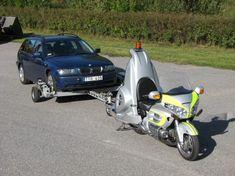 The Retriever: la Honda Goldwing per il soccorso stradale delle auto. (Trasladar autos)