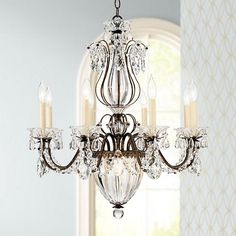 Round crystal chandelier chandeliers choices and rounding schonbek bagatelle 26 wide heirloom gold crystal chandelier aloadofball Images